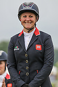 Gemma Tattersall riding CHICO BELLA P who came first in the British Equestrian Trade Association CIC*** at Bramham International Horse Trials 2016 at Bramham Park, Bramham, United Kingdom on 12 June 2016. <br /> <br /> Gemma is in contention to be selected for the GB Olympic team to go to Rio.<br /> <br /> Photo by Mark P Doherty.