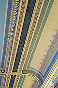 Interior design on ceiling of City Hall in Hobart Tasmania