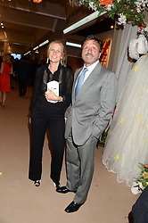 SIR ROCCO & LADY FORTE at the Masterpiece Midsummer Party in aid of Marie Curie Cancer Care held at The Royal Hospital Chelsea, London on 2nd July 2013.