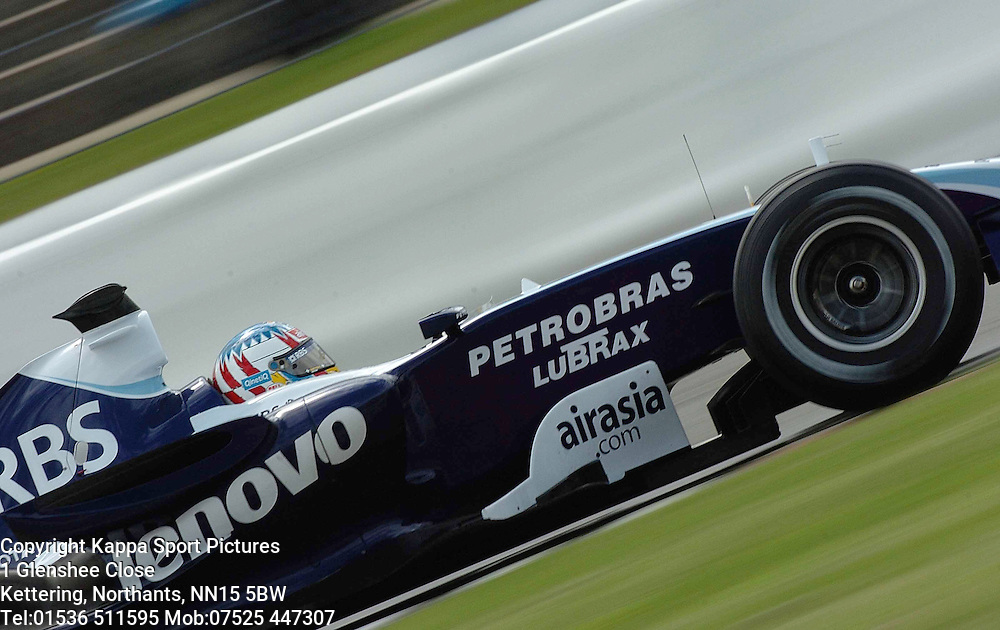 ALEXANDER WURZ, Williams F1, Formula One Pre Grand Prix,Test, Silverstone 20//6/07 Formula One, :Photo:Mike Capps