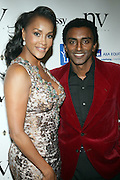 l to r:  Marcus Samuelsson and Vivica A. Fox at The 2009 NV Awards: A Salute to Urban Professionals sponsored by Hennessey held at The New York Stock Exchange on February 27, 2009 in New York City. ....