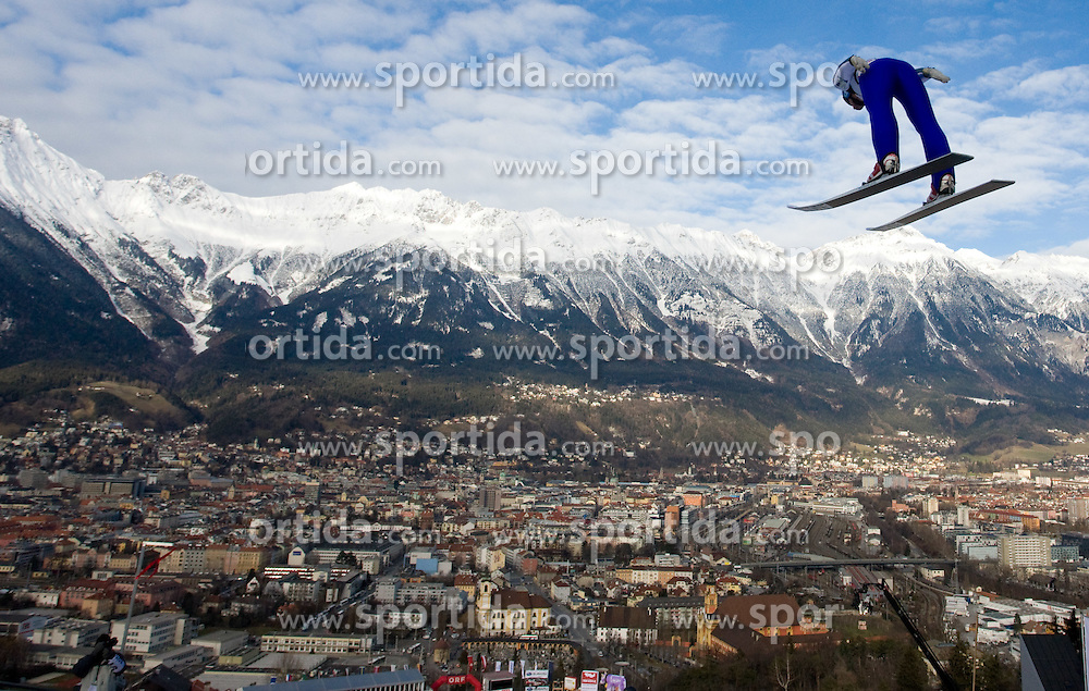 Wolfgang Loitzl of Austria competes during Qualification round of the FIS Ski Jumping World Cup event of the 58th Four Hills ski jumping tournament, on January 3, 2010 in Bergisel, Innsbruck, Austria.(Photo by Vid Ponikvar / Sportida)