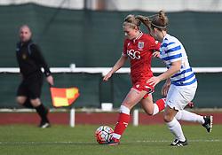 Millie Farrow of Bristol City Women - Mandatory by-line: Paul Knight/JMP - Mobile: 07966 386802 - 14/02/2016 -  FOOTBALL - Stoke Gifford Stadium - Bristol, England -  Bristol Academy Women v QPR Ladies - FA Cup third round