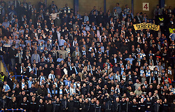 Malmo fans fans during the game