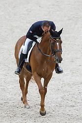 Alexandre Ayache, (FRA), Lights Of Londonderry - Grand Prix Team Competition Dressage - Alltech FEI World Equestrian Games™ 2014 - Normandy, France.<br /> © Hippo Foto Team - Leanjo de Koster<br /> 25/06/14