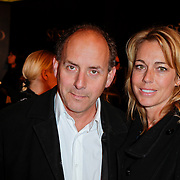 NLD/Amsterdam/20120115 - Premiere Suskind, Alain de Levita en partner Marion Pauw