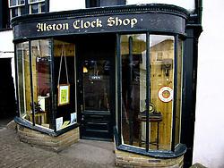 UK ENGLAND CUMBRIA ALSTON 31MAY06 -  Shopfront of Alston Clock Shop in Alston...jre/Photo by Jiri Rezac..© Jiri Rezac 2006..Contact: +44 (0) 7050 110 417.Mobile:  +44 (0) 7801 337 683.Office:  +44 (0) 20 8968 9635..Email:   jiri@jirirezac.com.Web:    www.jirirezac.com..© All images Jiri Rezac 2006 - All rights reserved.