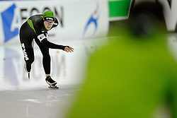 25-01-2010 SCHAATSEN: AKT 2: HEERENVEEN<br /> Ireen Wust plaatst zich ook voor de 1000 meter op de Olympische Spelen van Vancouver.<br /> ©2010-WWW.FOTOHOOGENDOORN.NL