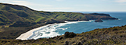 Allan's Beach, Otago Peninsula, New Zealand (12x33 inch print)