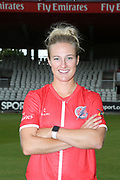 Lancashire Thunders Emma Lamb during the media day for Lancashire Thunder at the Emirates, Old Trafford, Manchester, United Kingdom on 17 July 2018. Picture by George Franks.