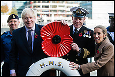 Oct 30 2012- Boris Johnson Launches Poppy Appeal