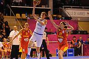 Vannes 16 Giugno 2013 <br /> Eurobasket Women 2013<br /> Italia - Spagna <br /> Nella foto: raffaella masciadri<br /> Foto Ciamillo