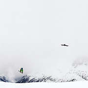 Freeride, Chamonix, France, Winter, Juan Bergada, Freeski, Vallorcine
