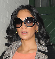 Nicole Scherzinger leaving a recording studio in London, UK. 23/01/2013<br /> BYLINE MUST READ : GOTCHAIMAGES.COM<br /> <br /> Copyright by © Gotcha Images Ltd. All rights reserved.<br /> Usage of this image is conditional upon the acceptance <br /> of Gotcha Images Ltd, terms and conditions available at<br /> www.gotchaimages.com
