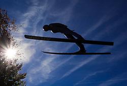 08.10.2010, Paul Ausserleitner Schanze, Bischofshofen, AUT, Österreichische Staatsmeisterschaften Skispringen, im Bild Feature Schispringen im Sommer, Herbst, Mattenspringen, EXPA Pictures © 2010, PhotoCredit: EXPA/ J. Feichter