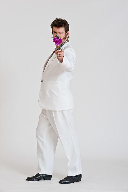 Studio portraits with comedian & actor Greg Ellis, of Wellington, NZ.