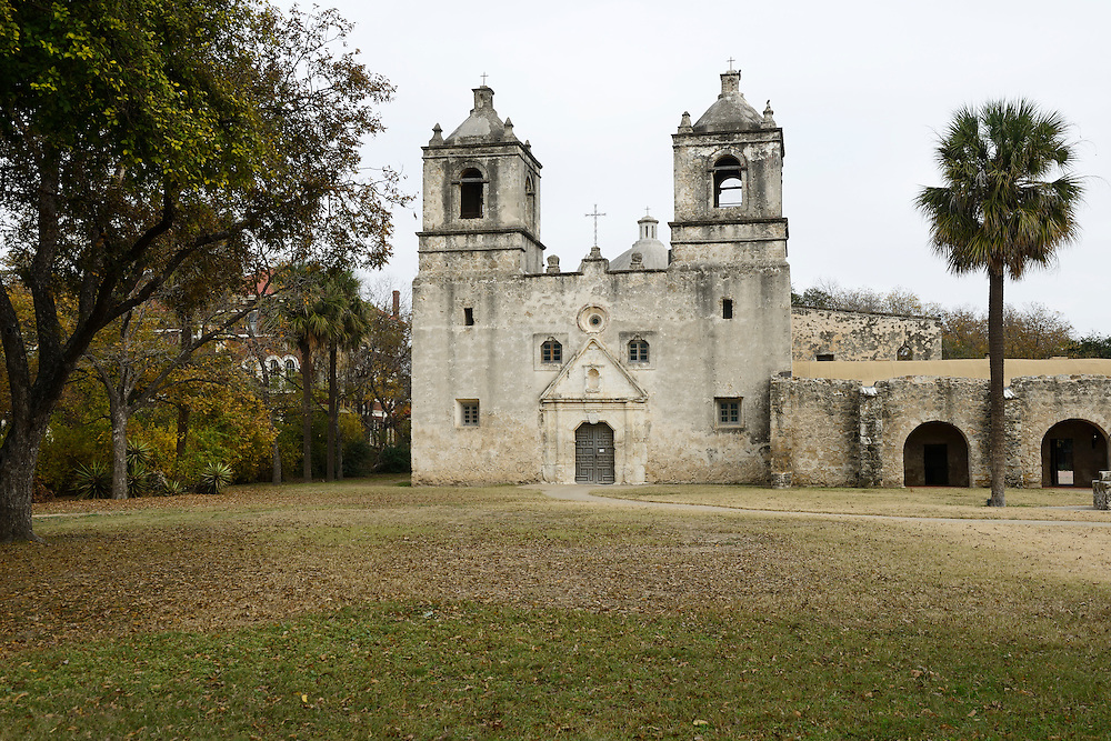 Mission Concepcion,National Historic Park, San Antonio, Texas, USA. near city of San Antonio,Texas,USA