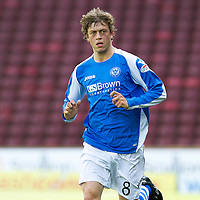 St Johnstone FC...2012-13<br /> Murray Davidson<br /> Picture by Graeme Hart.<br /> Copyright Perthshire Picture Agency<br /> Tel: 01738 623350  Mobile: 07990 594431