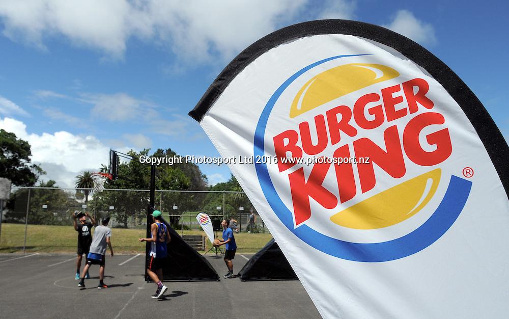 Burger King 3x3 National Basketball Tour, New Plymouth, Saturday, January 30, 2016. Copyright photo: Kerry Marshall / www.photosport.nz