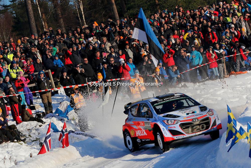 Thierry Neuville (BEL) - Nicolas Gilsoul (BEL) - Hyundai I20 WRC