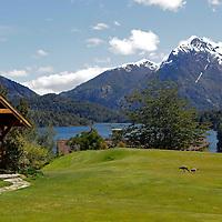 South America, Argentina, Bariloche. Llao Llao Resort & Golf Course.