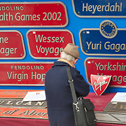 Virgin Trains Nameplates Auction