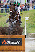 Camilla Speirs, (IRL), Portersize Just a Jiff - Eventing Cross Country test - Alltech FEI World Equestrian Games™ 2014 - Normandy, France.<br /> © Hippo Foto Team - Leanjo de Koster<br /> 31/08/14