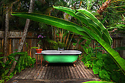 Fleming House Exterior Bathroom - Goldeneye - Jamaica