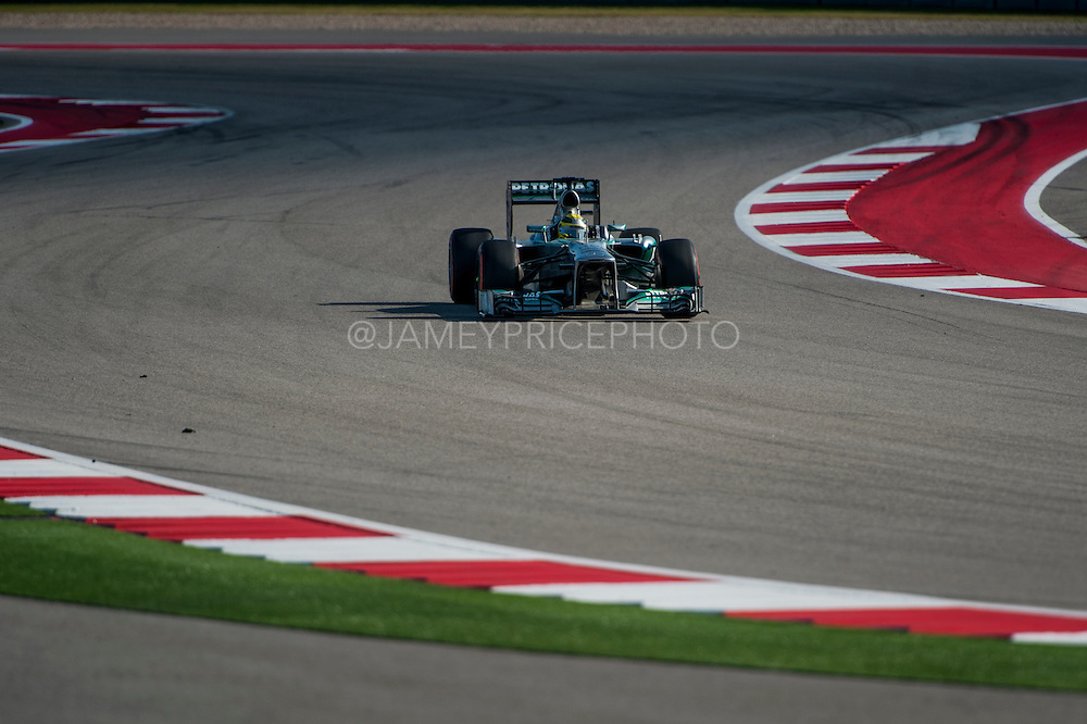 November 15- 17, 2013. Austin, Texas. United States Grand Prix 2013: Nico Rosberg, Mercedes GP Petronas F1 Team