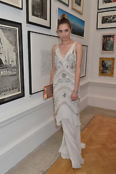 AMBER LE BON at the annual Royal Academy of Art Summer Party held at Burlington House, Piccadilly, London on 4th June 2014.