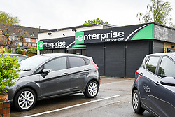 Embargoed to 0001 Saturday April 28 A general view of a Enterprise vehicle rental depot in Bristol, as the company was the highest rated worldwide vehicle rental firm with 78\% in an annual survey by Which? Travel magazine. Budget firm InterRent car hire has recorded the lowest customer satisfaction rating of any operator in seven years, according to the consumer group.