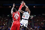 Moss David<br /> A|X Armani Exchange Olimpia Milano - Germani Basket Brescia<br /> Basket Serie A LBA 2019/2020<br /> MIlano 29 September 2019<br /> Foto Mattia Ozbot / Ciamillo-Castoria