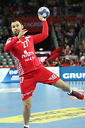Ivan Cupic (Croatia) during the EHF 2018 Men's European Championship, 2nd Round, Handball match between Croatia and Belarus on January 18, 2018 at the Arena in Zagreb, Croatia - Photo Laurent Lairys / ProSportsImages / DPPI