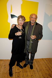 PETER & MAGGIE LAW parents of artist Natasha Law and actor Jude Law at an exhibition of artist Natasha Law's work entitled 'Room' hosted by the Eleven gallery in association with Ruinart champagne at 121 Charing Cross Road, London WC2 on 16th January 2008.  Following the private view a dinner was held at Soho House hosted by Ruinart.<br /> <br />  (EMBARGOED FOR PUBLICATION IN UK MAGAZINES UNTIL 1 MONTH AFTER CREATE DATE AND TIME) www.donfeatures.com  +44 (0) 7092 235465