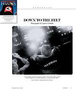 Harper's Magazine February 2014 CCTV layout