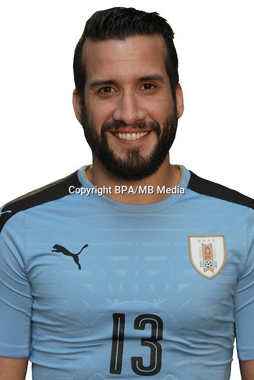 Football Conmebol_Concacaf - <br />Copa America Centenario Usa 2016 - <br />Uruguay National Team - Group C - <br />Mauricio Bernardo Victorino