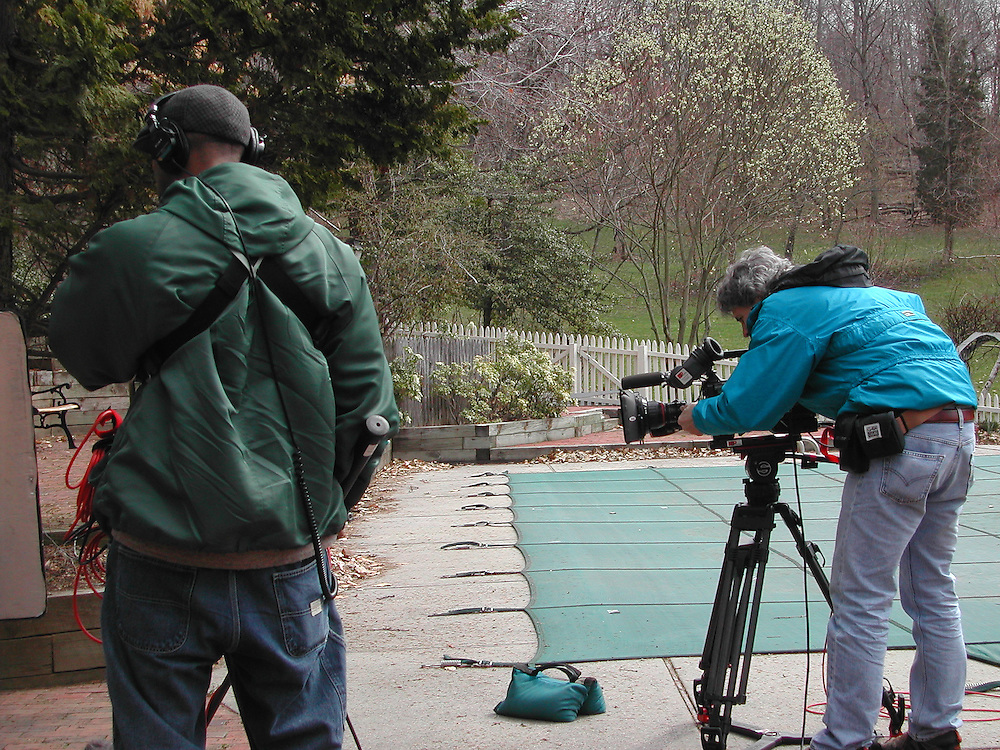 Behind the scenes at the Douglas House for IOMEDIA.