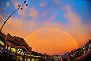 Rainbow in Sheffield Village, OH. © David Richard