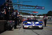 September 29, 2016: IMSA Petit Le Mans, #67 Ryan Briscoe, Richard Westbrook, Ford Chip Ganassi Racing, Ford GT GTLM