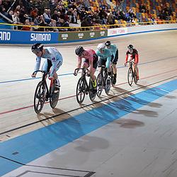 30-12-2018: Wielrennen: NK Baan: Apeldoorn<br />Stephan Habets, Mark Bakker moest naar de herkansing