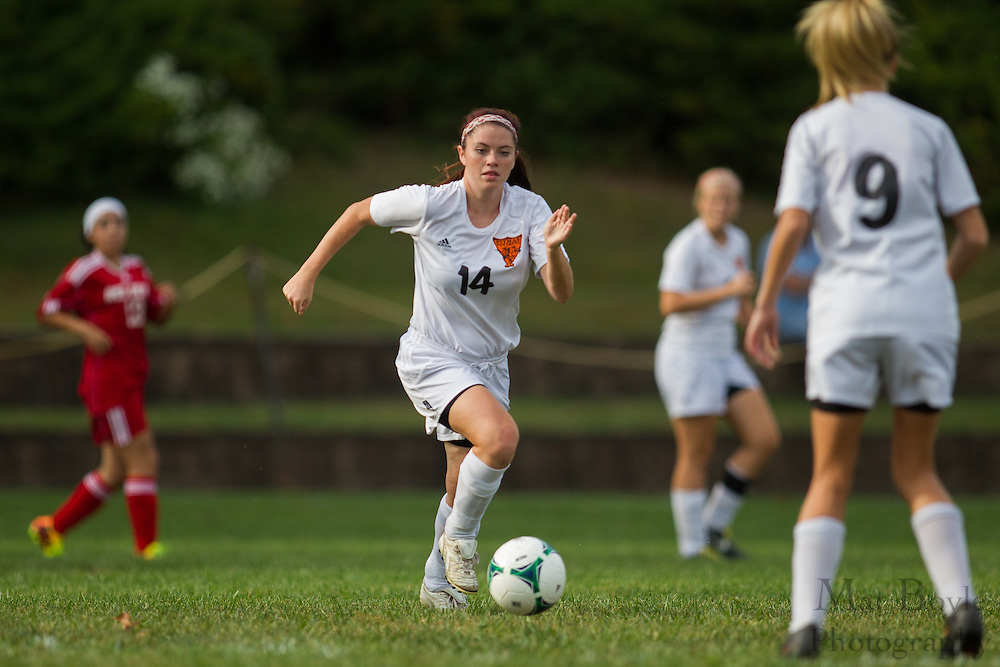 Pitman Girls Soccer vs Penns Grove High School  at Alcyon Park in Pitman, NJ on Thursday October 3, 2013. (photo / Mat Boyle)