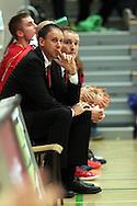 1.10.2014, Loimaan liikuntahalli, Loimaa.<br /> Korisliiga 2014-15, Nilan Bisons, Loimaa - Kouvot.<br /> Valmentajat Greg Gibson & Joonas Iisalo - Bisons