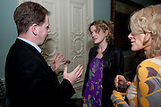 MATTHEW D'ANCONA; ANNA STOTHARD; SALLY EMERSON, Nicholas Coleridge celebrates the publication of his novel; Deadly Sins. Dartmouth House, Charles St. London. 28 April 2009