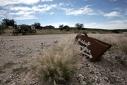 NAMIBIA MALTAHOEHE 19APR14 - Signage outside the Hudup campsite near Maltahoehe, Namibia.<br /> <br /> <br /> <br /> jre/Photo by Jiri Rezac<br /> <br /> <br /> <br /> &copy; Jiri Rezac 2014