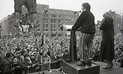 Speakers, , Anti Clause 28 demonstration, Manchester, 1988