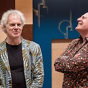 Nederland,Hilversum, 22-03-2017 Jos Buitink en Angelo  FOTO: Gerard Til