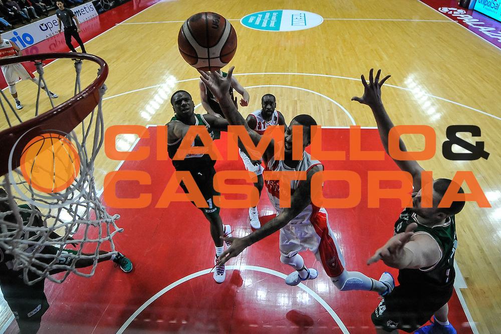 Maynor Eric<br /> Openjobmetis Varese - Sidigas Avellino<br /> Basket Fiba Champions 2016/2017<br /> Desio 06/11/2016<br /> Foto Ciamillo-Castoria