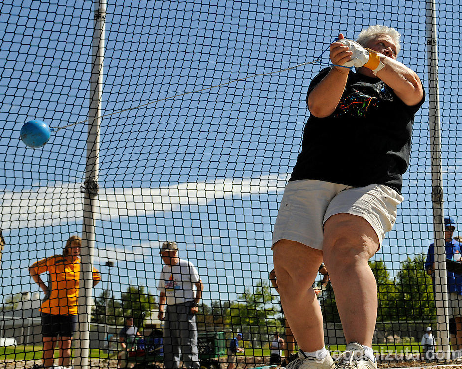 The Idaho Senior Games Track and Field Meet held at the Northwest Nazarene University in Nampa, Idaho on August 21, 2010.