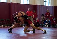 St Paul's School wrestling.  ©2019 Karen Bobotas Photographer