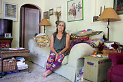 Sharon Kabel poses for a portrait at her home in East Aurora, New York on Tuesday, June 19, 2018. CREDIT: Mike Bradley for The Wall Street Journal<br /> SHORTFALL_KABEL